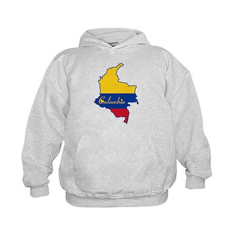 Cool Colombia Kids Hoodie