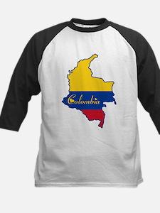 Cool Colombia Kids Baseball Jersey