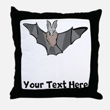 Bat (Custom) Throw Pillow