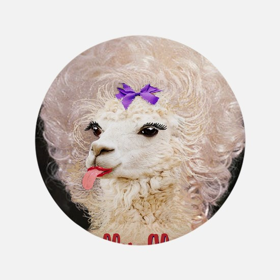 "Dolly Llama 3.5"" Button (100 pack)"
