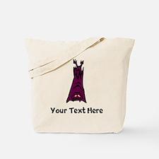 Bat Hanging Upside Down (Custom) Tote Bag