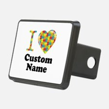 Autism Heart Hitch Cover