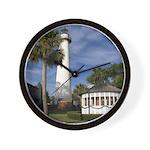 Saint Simon Lighthouse Wall Clock