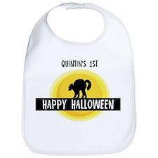 1st Halloween: Quintin Bib