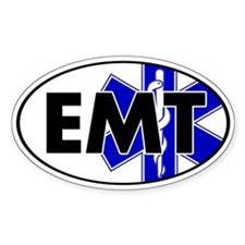EMT Oval w/SOL Oval Stickers