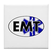 EMT Oval w/SOL Tile Coaster