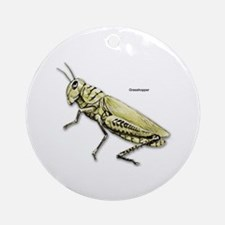 Grasshopper Insect Ornament (Round)