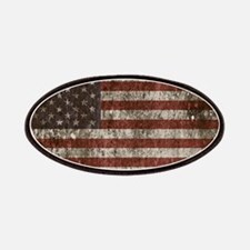 Vintage American flag licence plate cove Patch