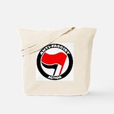 Anti-Fascist Action Tote Bag