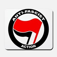 Anti-Fascist Action Mousepad