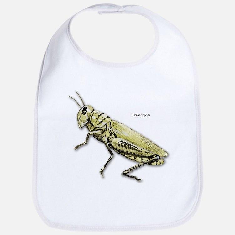 Grasshopper Insect Bib