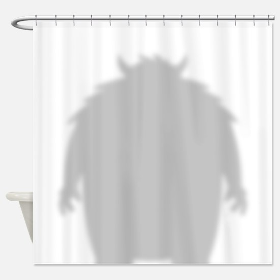 Monster Shadow Shower Curtain
