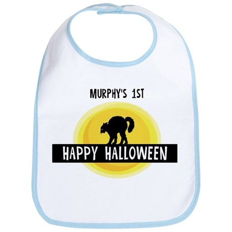 1st Halloween: Murphy Bib