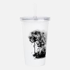 Smog Life Ink Art Acrylic Double-wall Tumbler