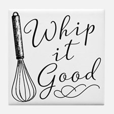 Whip It Good Tile Coaster