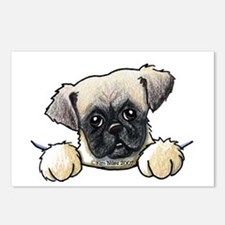 Pocket Pug Puppy Postcards (Package of 8)