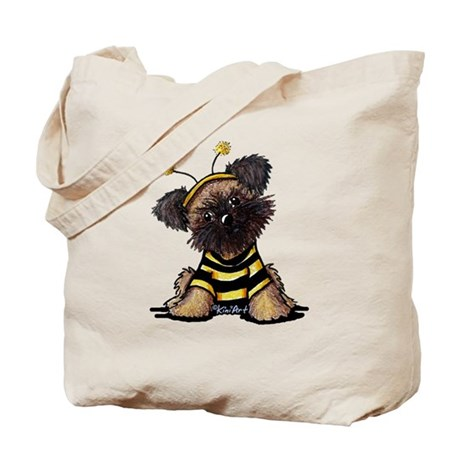 Brussels Griffon Bee Tote Bag