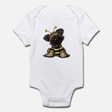 Brussels Griffon Bee Infant Bodysuit