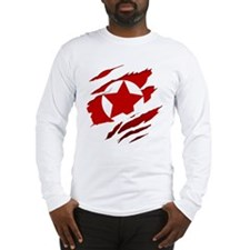 America Proud (red) Long Sleeve T-Shirt