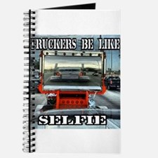 Trucker Selfie Journal