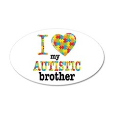 Autistic Brother Wall Decal