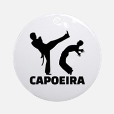 Capoeira Round Ornament