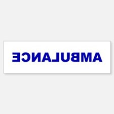 AMBULANCE [backward] Bumper Stickers