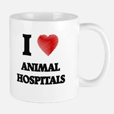 I love Animal Hospitals Mugs