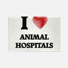 I love Animal Hospitals Magnets