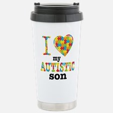 Autistic Son Travel Mug