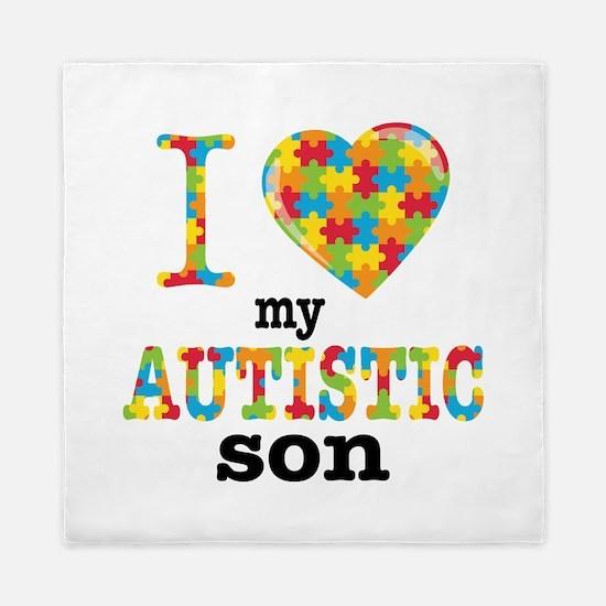 Autistic Son Queen Duvet