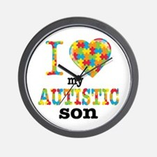 Autistic Son Wall Clock