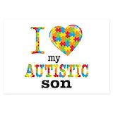 Autism 3.5 x 5 Flat Cards