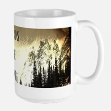 vintage mountains are calling Mugs