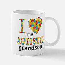 Autistic Grandson Small Small Mug