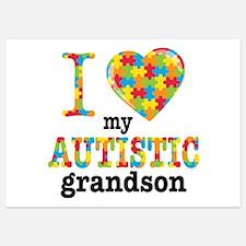 Autistic Grandson Invitations