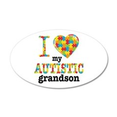 Autistic Grandson Wall Decal