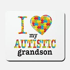 Autistic Grandson Mousepad