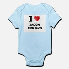 I love Bacon And Eggs Body Suit