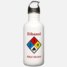 Ethanol MSDS Label Water Bottle