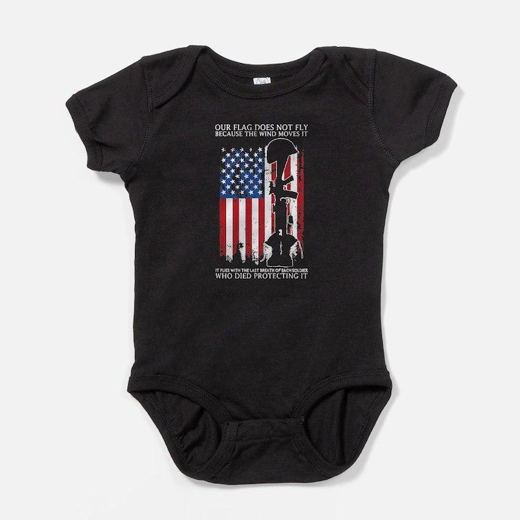 Fallen Soldier Baby Bodysuit