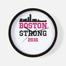 Boston Strong 2016 Wall Clock