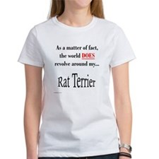 Rat Terrier World Tee