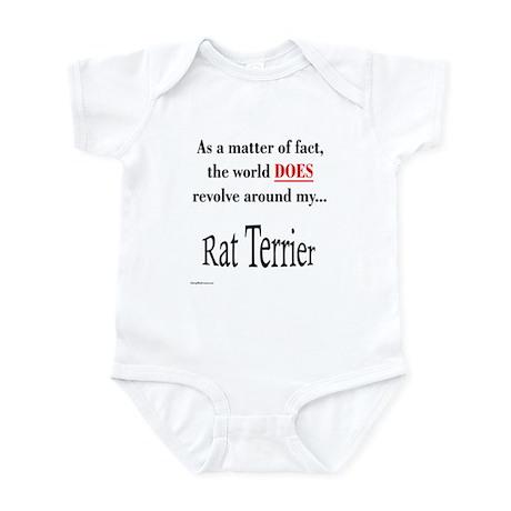 Rat Terrier World Infant Bodysuit