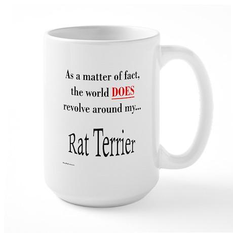 Rat Terrier World Large Mug