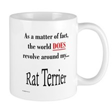 Rat Terrier World Mug