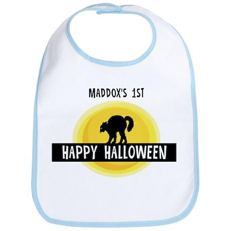 1st Halloween: Maddox Bib
