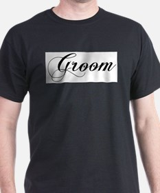 Groom Ash Grey T-Shirt