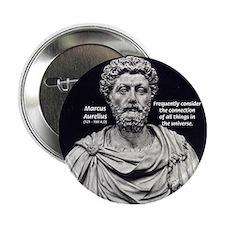 Marcus Aurelius Stoicism Button