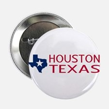 "Texas: Houston (State Shape 2.25"" Button (10 pack)"